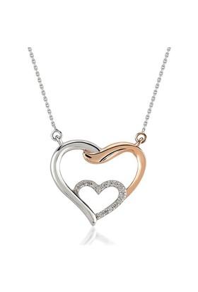 Divas Love Pırlanta Altın Love İn Love Kalp Kolye