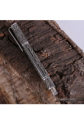 Sanal Kuyumculuk 925 Ayar Gümüş El İşçiliği Kalem