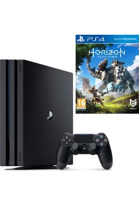 Sony Playstation 4 Pro 1 Tb + Ps4 Horizon Zero Dawn ( Sony Eurasia)