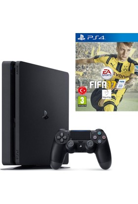 Sony PS4 Oyun Slim 1 Tb (Cuh-2016B) + Fifa 2017 Eurasia