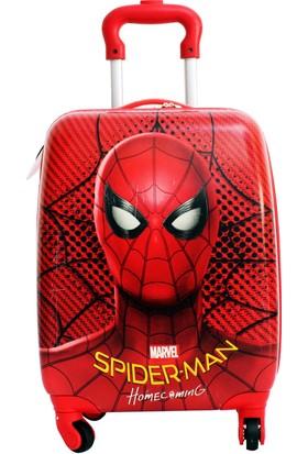 Hakan Çanta 89147 Spıderman Çocuk Valiz Bavul