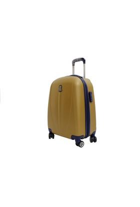Mçs Ussaro V210-1 Gold Bakalit Abs Büyük Boy Valiz Bavul