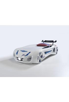 Future Arabalı Yatak Beyaz