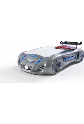 Future Arabalı Yatak Gri