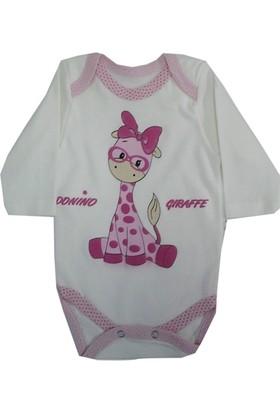 Donino Zürafa Baskılı Bebek Badisi