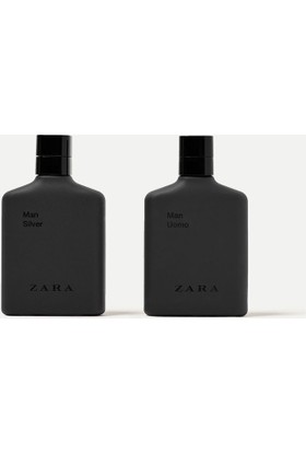 Zara Man Silver Ve Man Uomo Erkek Parfüm 2X100