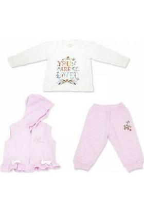 Aziz Bebe Üçlü Kız Takım 3086