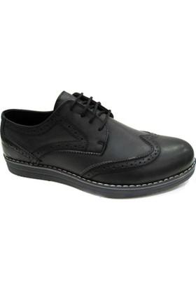 Dragon 670 Merdane - Siyah - Füme Erkek Ayakkabı