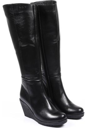 Gön Deri Kadın Çizme 63556