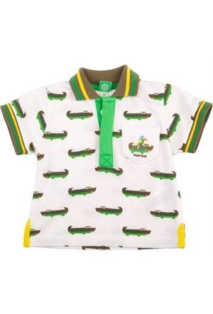 Tuc Tuc Çocuk Polo Yaka T-Shirt, Coconut