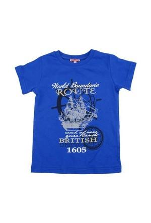 Zeyland Erkek Çocuk Mavi Tshirt K-51Kl663752