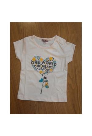 Zeyland Kız Çocuk Pembe T-Shirt Basic K-41Kl554552