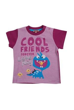 Zeyland Erkek Çocuk Mor T-Shirt K-41Z661heo51