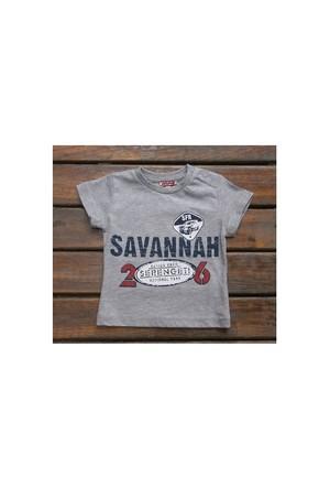 Zeyland Erkek Çocuk Gri T-Shirt Basic K-41Kl663652