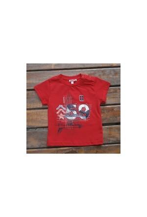 Zeyland Erkek Çocuk Kirmizi T-Shirt Basic K-41Kl663652