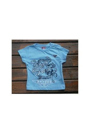 Zeyland Erkek Çocuk Mavi T-Shirt Basic K-41Kl663652