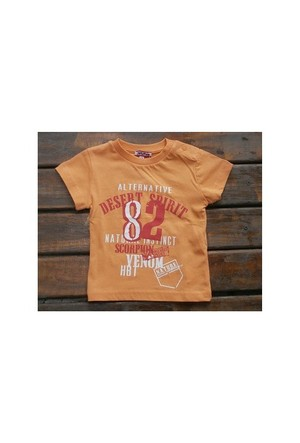 Zeyland Erkek Çocuk Turuncu T-Shirt Basic K-41Kl663652