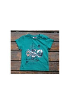 Zeyland Erkek Çocuk Yesil T-Shirt Basic K-41Kl663652