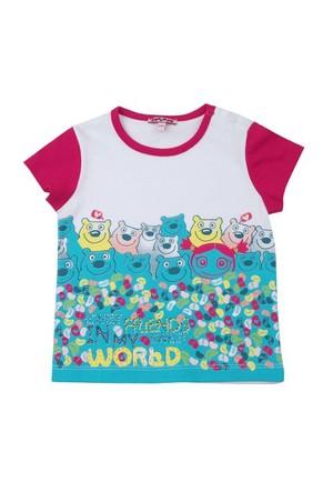 Zeyland Kız Çocuk Beyaz T-Shirt K-41Z662sef60
