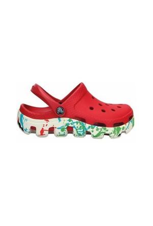 Crocs Duet Sport Splatter Graphic Clog Kids