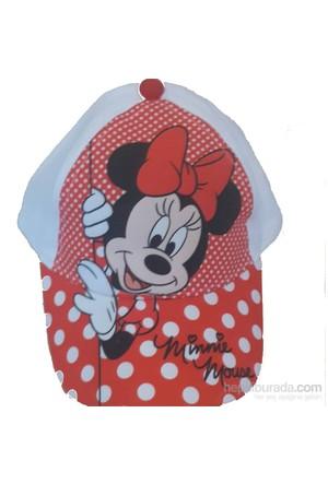 Çimpa Minnie Mouse Şapka Beyaz