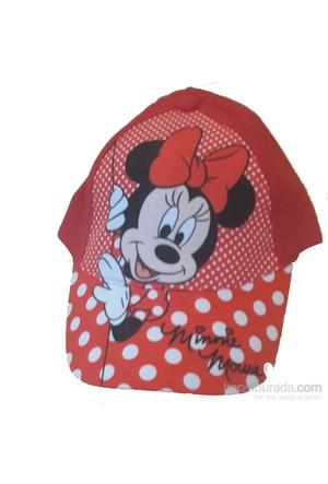 Çimpa Minnie Mouse Şapka Kırmızı