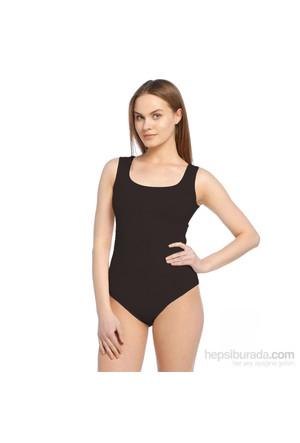 Focuswear Cıtcıtlı Kalın Askılı Kadın Body