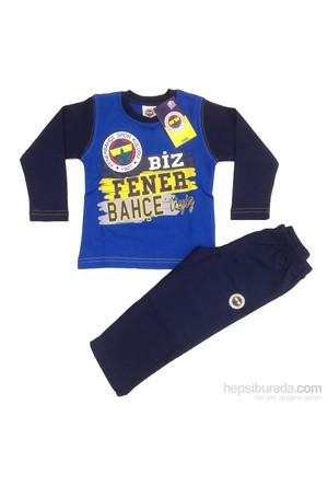 Fenerbahçe Fenerium Lisanslı Eşofman Takımı-Mavi