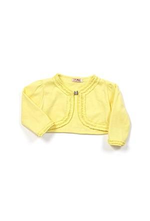 Zeyland Kız Çocuk Sarı Bolero - K-61KL5228
