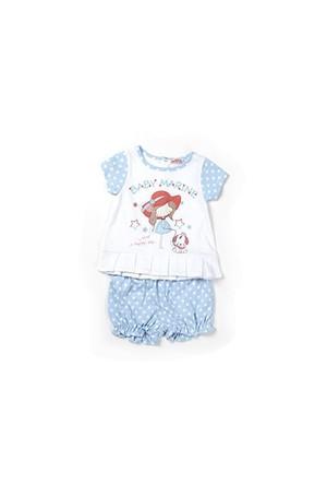 Zeyland Kız Çocuk Beyaz Bluz-Şort Takım - K-61Z2VFA77