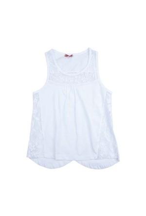 Zeyland Kız Çocuk Beyaz Atlet K-51Z834glf51