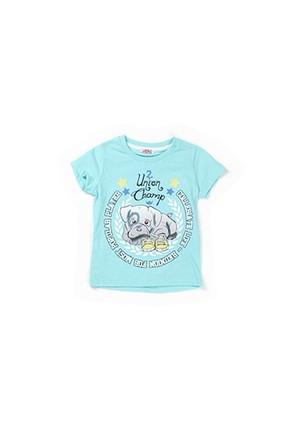 Zeyland Erkek Çocuk Turkuaz T-Shirt - K-61KL1751