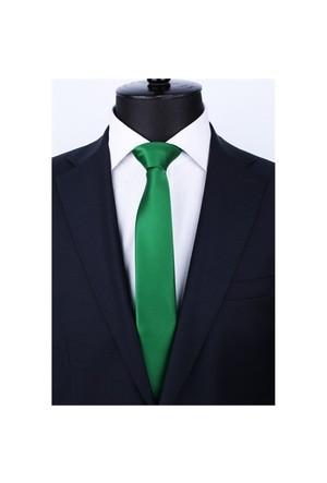 La Pescara Zümrüt Yeşili Slim Kravat Sk5006