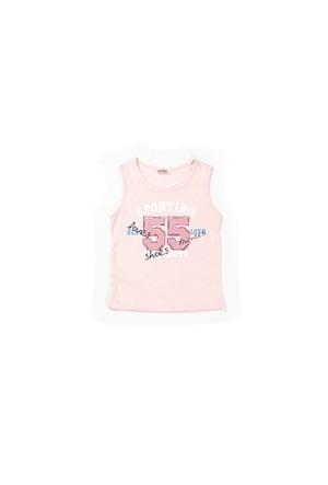 Zeyland Kız Çocuk Pembe Atlet - K-61KL5255