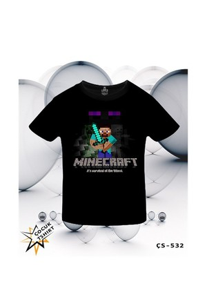 Lord T-Shirt Minecraft - Survival Of The Fittest T-Shirt