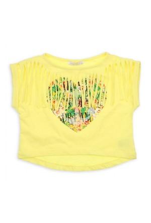 Modakids Nk Kids Kız Çocuk Kalpli Bluz 002-32022-001
