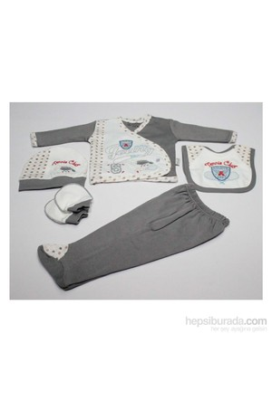 Nenny Baby Nenny Baby 5 Li Hastane Çıkışı T-711 Gri