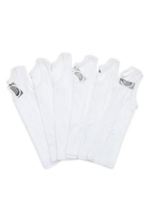 Modakids Gümüş İç Giyim 6'Lı Kız Çocuk Askılı Atlet 040-3063-027
