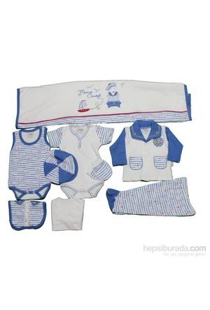 Nenny Baby Nenny Baby 10 Lu Hastane Çıkışı T-517 Mavi