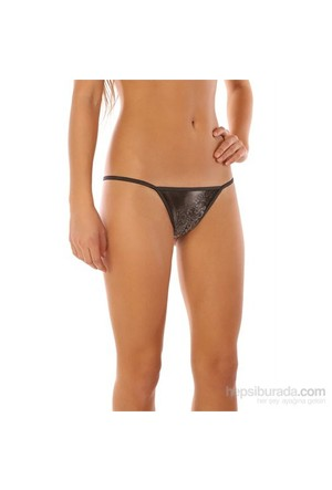 Redhotbest Black Rose Fantezi T-String