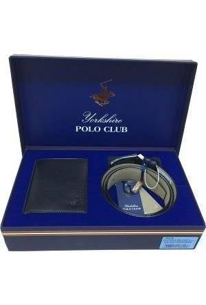 Polo Club Yorkshire Erkek Kemer Cüzdan Seti