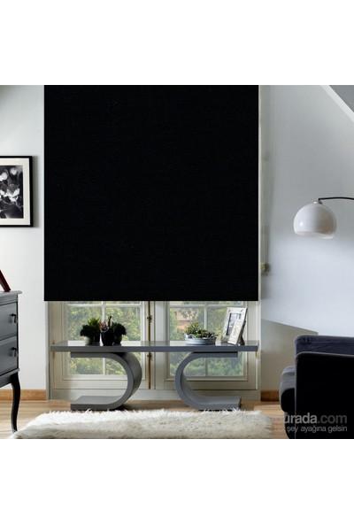 Taç Polyester Işık Geçirmez Blackout Karartma Stor Perde Siyah 150X200 Siyah