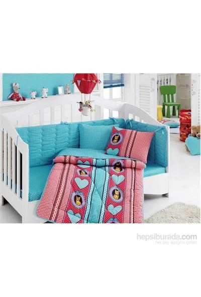 Cotton Box Bebek Uyku Seti Minnoş Kırmızı