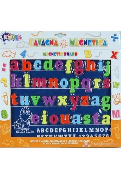 Kidea Mıknatıslı Küçük Harfler (36 parça Board lu)