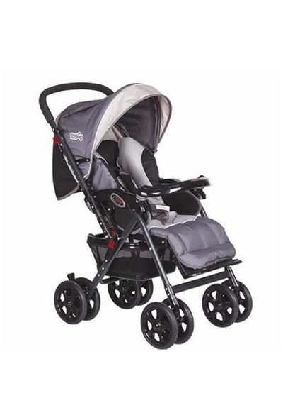 Rosso 2010 Lüx Çift Yönlü Bebek Arabası Puset