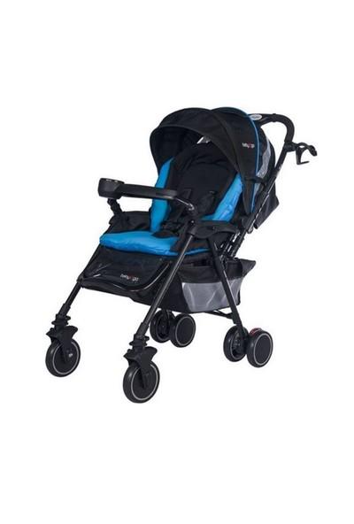 Baby2go Luna Bebek Arabası Mavi
