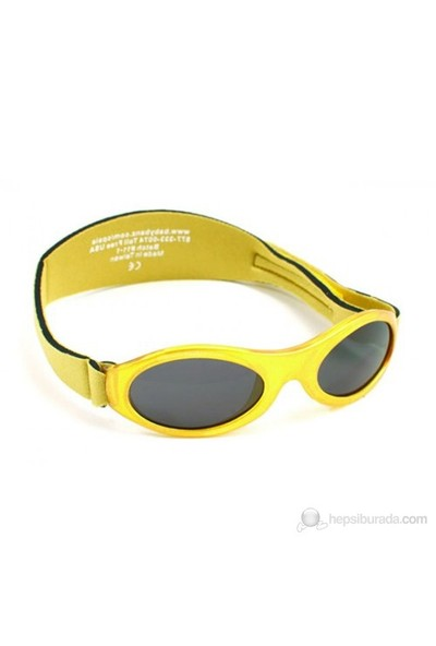 Kidz Banz Adventure Altın Metalik Güneş Gözlüğü (2-5 Yaş) Unisex