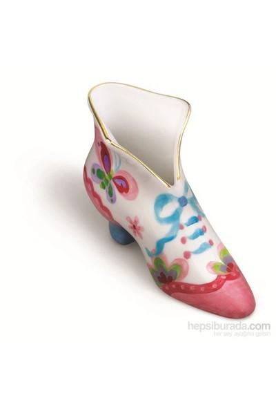 4M Porselen Ayakkabı Vazo