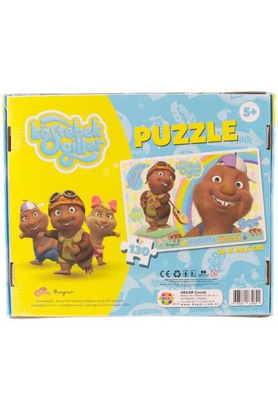 Köstebekgiller 130 Parça Puzzle