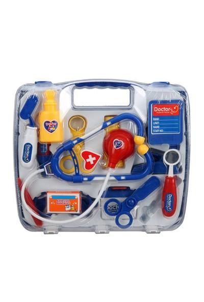 Nani Toys Çantalı Medikal 13 Parça Doktor Seti